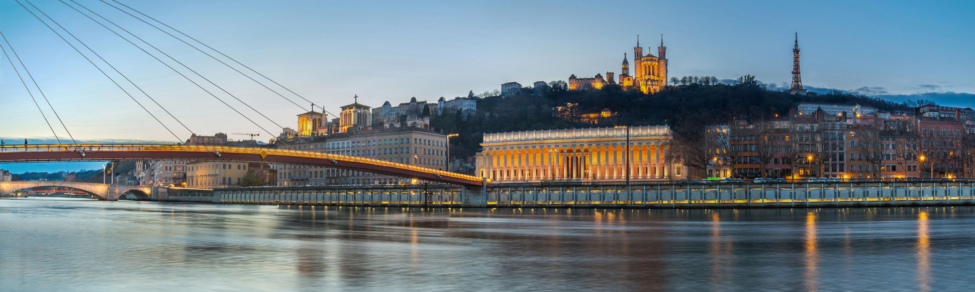 Lyon rives de Saône